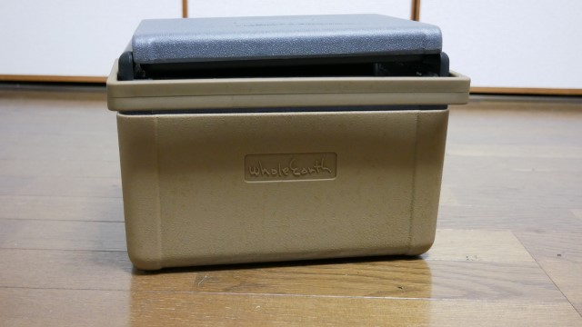 クーラーボックスの画像。