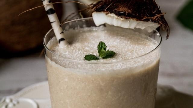 ミルクカクテルの画像。