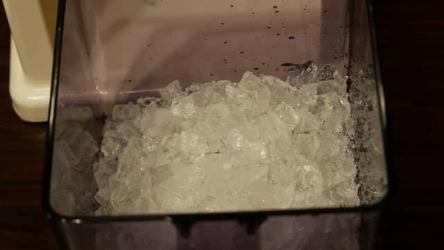 生成されたクラッシュアイスの画像。