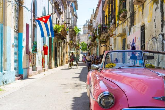 キューバの町。
