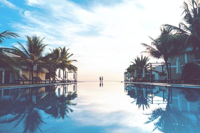 楽園のイメージ画像。