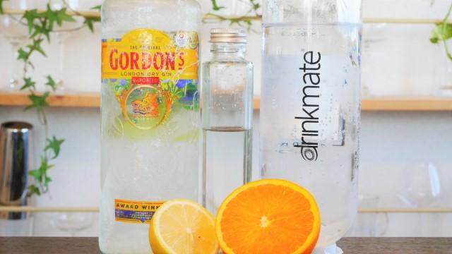 オレンジフィズの材料の画像。