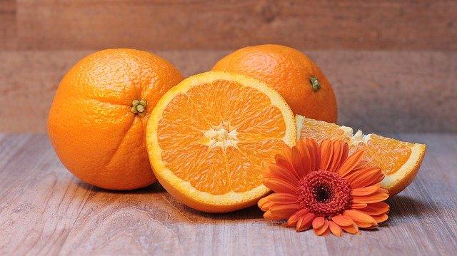 オレンジのイメージ画像。