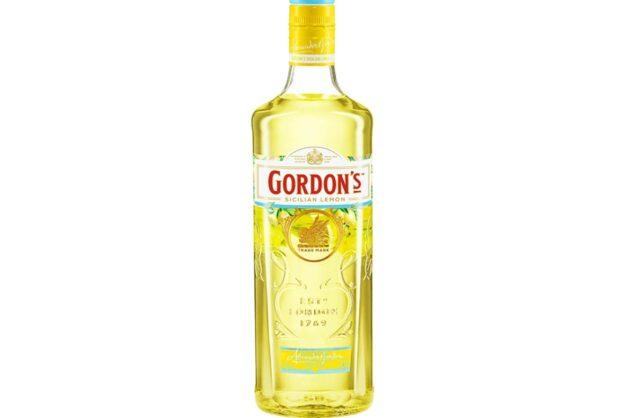 ゴードンジン シチリアレモンのボトルの画像。