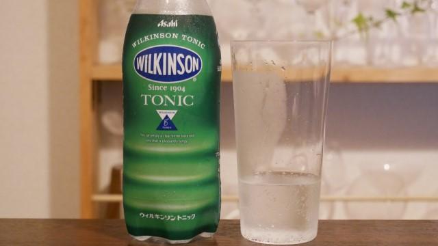 ペットボトルのウィルキンソントニックウォーターの画像。