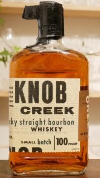 ノブクリークのボトル正面の画像。