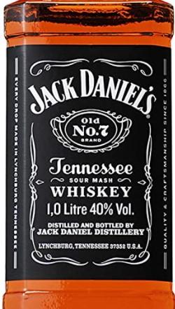 ブラックラベルのジャックダニエルの画像。