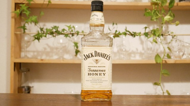 ジャックダニエルテネシーハニーのボトルの画像。