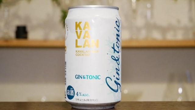カバランジントニック缶の画像。