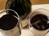 赤のスパークリングワイン。
